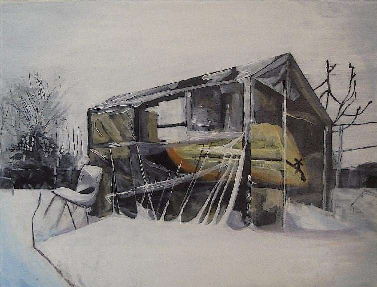 Dreaming the thaw by Sue Blandford