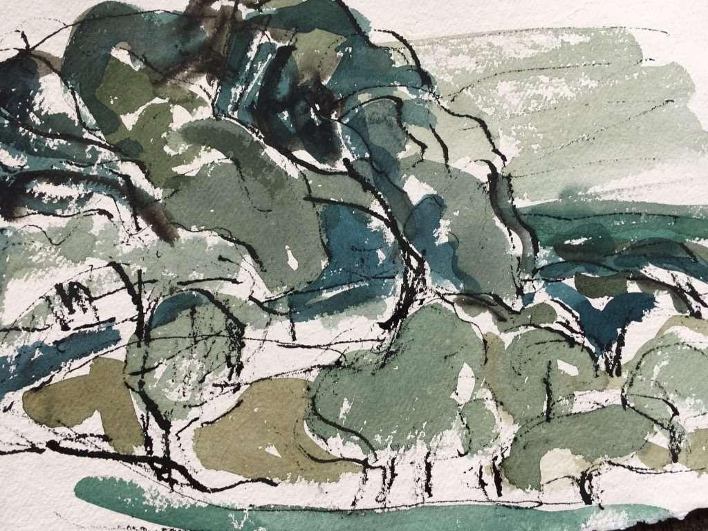 moira Jarvis Tree Paintings