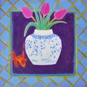 Janet To - Tulips Origami Crane